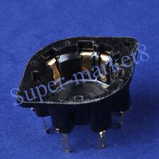 2pcs 8Pin Euro Tube Socket Gold Pin AZ1 EL1 EF6 CT8 AU8G