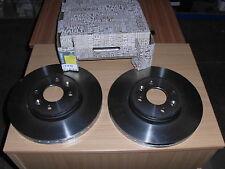 GENUINE RENAULT FRONT BRAKE DISCS X2 PART NO:7701207829 FITS SCEN/CLIO/LAGUNA