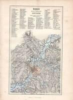 1877 Stampa Roma & Environs Secondo A Barone Moltke