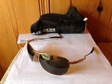 NEW Oakley - Crosshair - Polished Gold / Dark Grey, OO4060-01