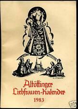 Liebfrauen-Kalender -1983--Altöttinger-