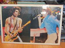 Rolling Stones  Poster orig  unused NOS 1982 FRANKFURT GERMANY Jagger 10777
