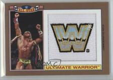 2016 Heritage WWE Commemorative All-Star Bronze /99 Ultimate Warrior Patch HOF