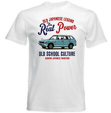 VINTAGE JAPANESE CAR HONDA CIVIC STATION WAGON - NEW COTTON T-SHIRT
