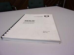 Vintage 1986  AT&T Merlin 1030 3070 F5 Administration Manual
