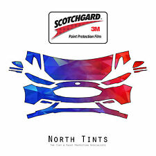 Ford Fusion Sport 2017-2019 PreCut 3M Scotchgard Paint Protection Clear Bra PPF