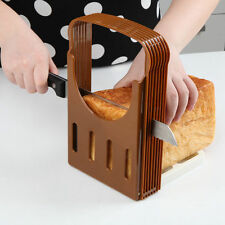 Bread/Loaf/Toast Slicer/Cutter Kitchen Sandwich Slicing Guide Foldable New Tools
