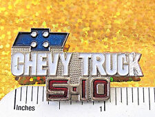 CHEVROLET TRUCK S-10 - hat pin , lapel  pin , tie tac , hatpin GIFT BOXED