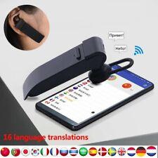 Bluetooth Traductor De Idiomas En Tiempo REAL Inteligente IDEAL Para Viajes!