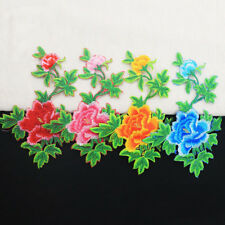Motif Embroidered Flower Iron Applique Or Diy Sewing Trim Patches Two style
