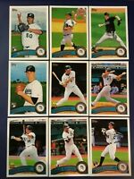 2011 Topps MIAMI MARLINS Complete Team Set (21) 2 MIKE STANTON ROOKIE Sharp !