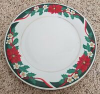 "Tienshan DECK THE HALLS  7 1/2"" Salad Plates Set(s) of 4"