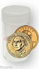 Round Small Dollar Coin Storage Tubes 26mm by BCW 5 pack