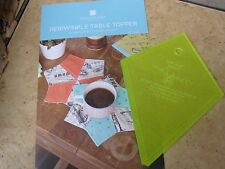 """5"""" Wacky Web (Periwinkle) Template for Charm Pac & Periwinkle Topper Pattern NEW"""