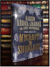 Mycroft and Sherlock ✍SIGNED✍ by KAREEM ABDUL JABBAR New Hardback 1st Ed & Print