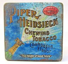 PIPER HEIDSIECK CHEWING TOBACCO Champagne Flavor pocket tin