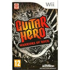 Nintendo Wii PAL version Guitar Hero Warriors of rock solo juego