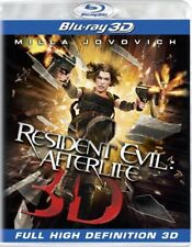 RESIDENT EVIL AFTERLIFE New Sealed Blu-ray 3D