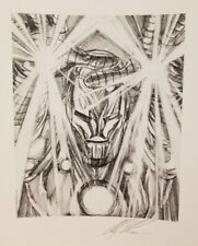Alex Ross Signed Giclee of Sketch-Iron Man Visions