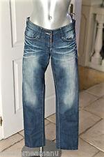 jeans verblichen Frau Timezone SCHWELLER Größe w26 L32 (36-38) perfekter Zustand