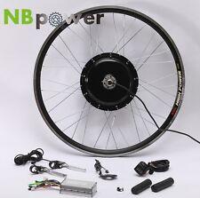 "48V 1500W E Bike Conversion Kit--Hub Motor 26"" Rear Wheel with LCD Display"