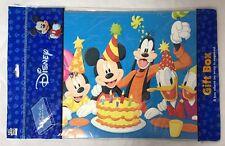 Disney Gift Box Mickey Minnie Goofy Donald Daisy Christmas Birthday