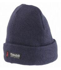 FHB Strickmütze blau Winter Mütze marine winddicht atmungsaktiv warm Thinsulate