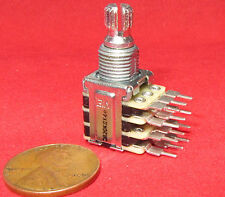 KIE 20K OHM Quad Ganged Linear Taper Pot - 3B20K - 4 Gang Potentiometer CAR12 BF