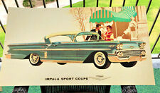 1958 Chevrolet Poster - Impala Sport Coupe