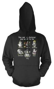 Penguin You Can Be Whatever You Want To Be Potter Got Unicorn Adult Hoodie