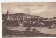 South Africa, City Hall, Grande Parade & Signal Hill Cape Town Postcard, B030
