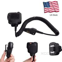 Shoulder Speaker Mic Multipin Lapel Microphone For KENWOOD Two way radios USA