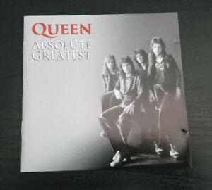 CD ALBUM - QUEEN - ABSOLUTE GREATEST