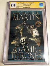 CGC SS 9.8 George R.R. Martin's A Game of Thrones #1 signed by Kit Harington