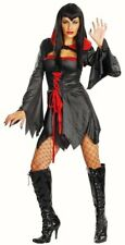 Ladies Vampire Horror fancy dress costume womens Halloween outfit Cover Queen