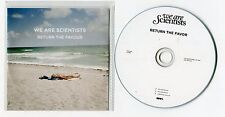 We Are Scientists - cd-PROMO - RETURN THE FAVOUR © 2013 - USA-1-Track-CD - Rock