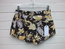NEW WRANGLER 'HI CHEEKY' HIGH WAIST FLORAL DENIM JEAN SHORTS - RRP $79.95 10