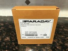 FARADAY 8704 Intelligent Interface Module for Contact Devices with Relay NEW