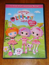 First Ever Lalaloopsy Movie! Adventures Lalaloopsy Land = Search for Pillow DVD