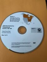 2007 2008 2009 BMW X5 X6  Navigation DVD 69 90 2 158 158 REGION 1 EAST COAST OEM
