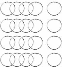 More details for binding links ring pop stick ring leaf binder loose rings metal silver