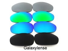 Galaxy Replacement Lenses For Oakley Juliet Black&Blue&Green&Titanium 4Pairs