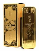 1 One Million By Paco Rabanne Eau de Toilette Limited Edition Men 3.4 oz 100 Ml
