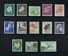 NORFOLK ISLAND, QEII, 1960 / 62, set of 13 stamps to 10s. value, UM & MM Cat £38