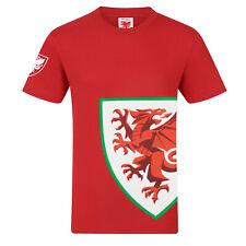 Wales Cymru FAW Official Football Gift Mens Graphic T-Shirt