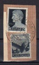 STORIA POSTALE LUOGOTENENZA 1946 Frammento Imperiale 25L USATO