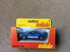 LANCIA 037 'PIRELLI TOTAL' RALLY CAR BLUE 1:43 SOLIDO SCALE MODEL *BOXED*