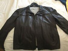 Armani leather jacket like new, beautifull spring, fall. Size 50