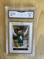 2005 Topps Brett Favre Graded 10 Gem Mint