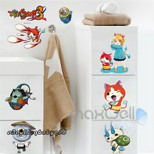 Yokai Watch Wibble Wobble Wall Stickers Border Decals Window Decor Kids Boy Gift